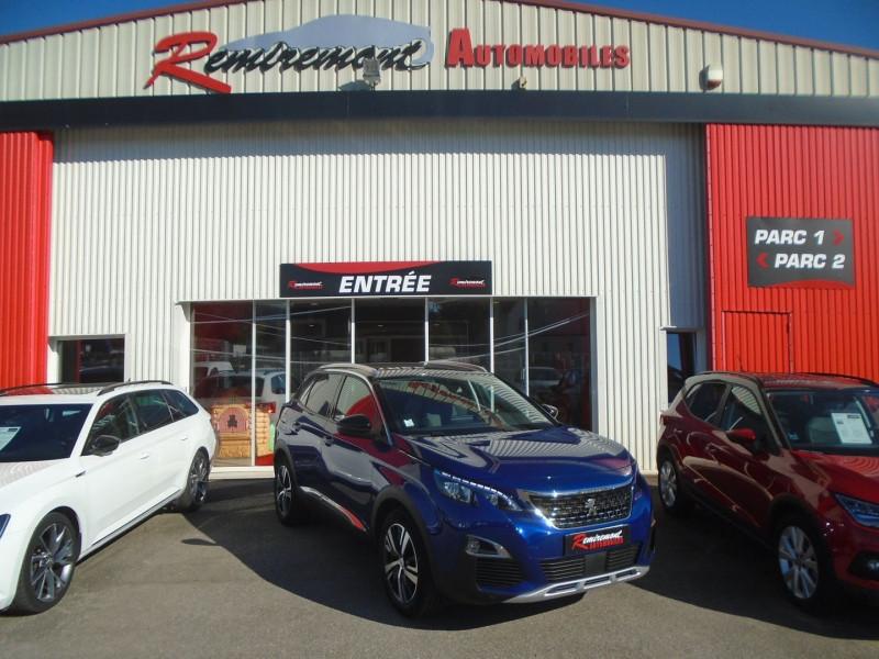Peugeot 3008 1.5 BLUEHDI 130CH E6.C ALLURE BUSINESS S&S EAT8 Diesel BLEU  Occasion à vendre