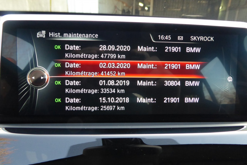 Photo 19 de l'offre de BMW X1 (F48) SDRIVE18IA 136CH XLINE à 24890€ chez PCA