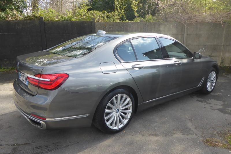 Photo 3 de l'offre de BMW SERIE 7 (G11/G12) 730DA XDRIVE 265CH EXCLUSIVE à 38890€ chez PCA
