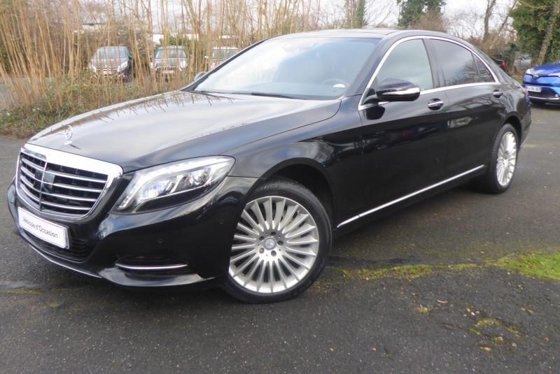 Mercedes-Benz CLASSE S (W222) 350 BLUETEC EXECUTIVE L 7G-TRONIC PLUS Diesel NOIR Occasion à vendre