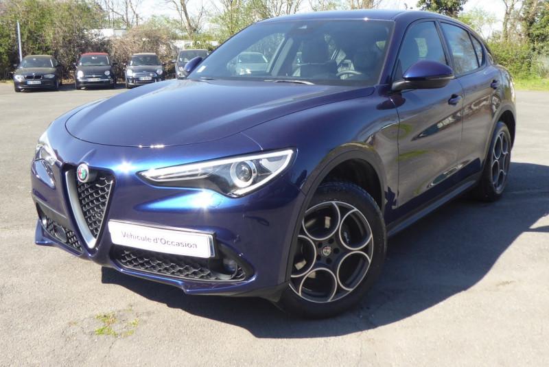 Alfa Romeo STELVIO 2.2 DIESEL 210CH SPORT EDITION Q4 AT8 Diesel BLEU  Occasion à vendre