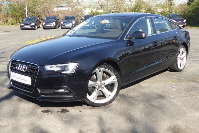 Audi A5 SPORTBACK 3.0 V6 TFSI 272CH AVUS QUATTRO S TRONIC 7 Essence NOIR Occasion à vendre