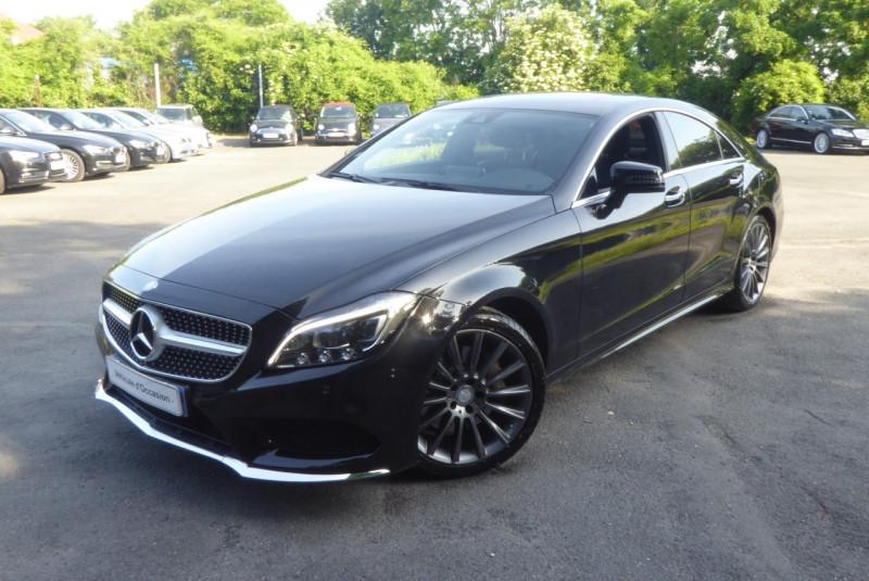 Mercedes-Benz CLASSE CLS (W218) 350 D FASCINATION 9G-TRONIC Diesel NOIR Occasion à vendre