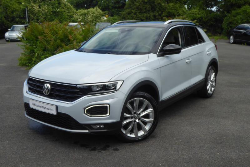 Volkswagen T-ROC 2.0 TDI 150CH CARAT EXCLUSIVE 4MOTION DSG7 EURO6D-T Diesel GRIS C Occasion à vendre