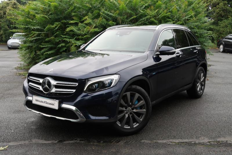Mercedes-Benz GLC 350 E 211+116CH FASCINATION 4MATIC 7G-TRONIC PLUS Hybride BLEU F Occasion à vendre