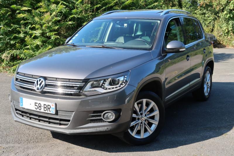 Volkswagen TIGUAN 2.0 TDI 110CH BLUEMOTION TECHNOLOGY FAP CARAT Diesel GRIS F Occasion à vendre