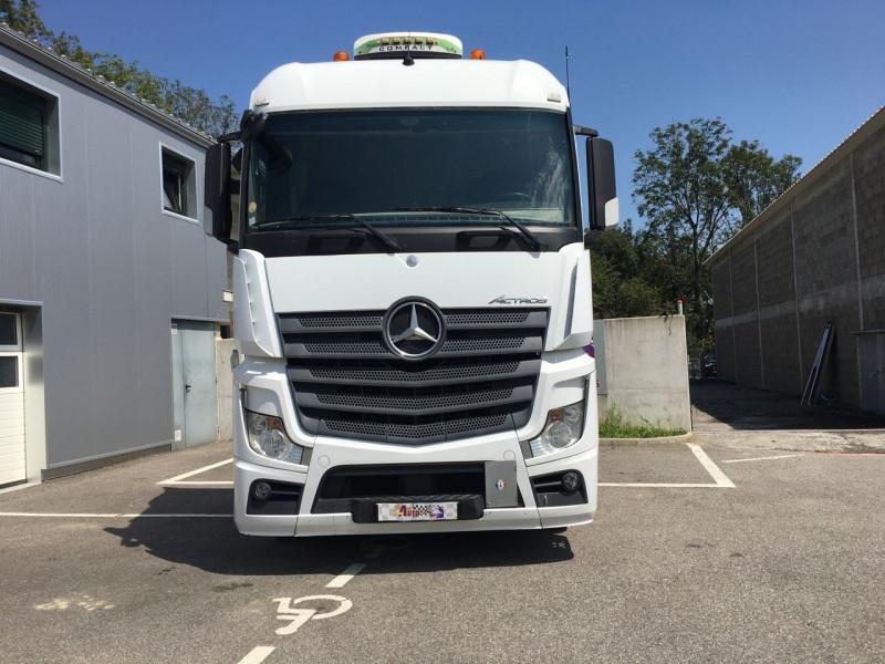 Mercedes ACTROS II 1845 STREAMSPACE 2.5M EURO 5 Diesel BLANC Occasion à vendre