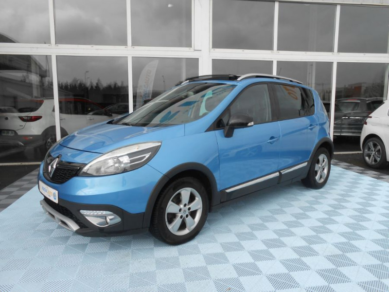 Renault SCENIC XMOD 1.2 TCe 115 BV6 ZEN Toit Pano. 1ère Main ESSENCE BLEU MÉTAL Occasion à vendre