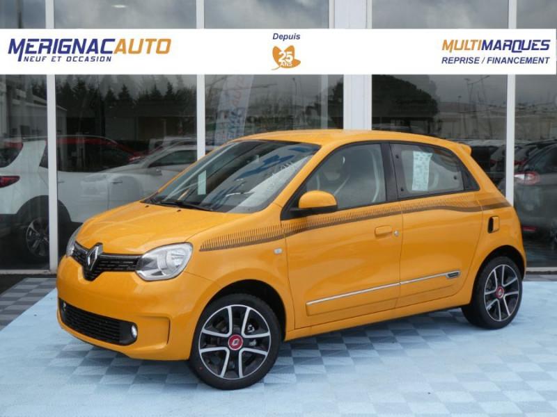 """Renault TWINGO III (2) 1.0 SCe 75 INTENS Ecran 7"""" JA16 SC Pack Noir ESSENCE MANGUE PASTEL Neuf à vendre"""