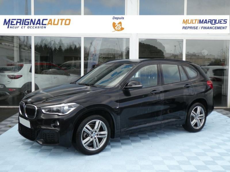 Photo 1 de l'offre de BMW X1 (F48) XDRIVE 18DA 150 BVA8 M SPORT JA18 Camera à 32990€ chez Mérignac auto