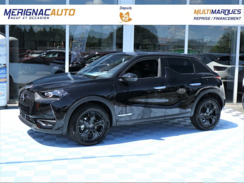 Ds DS3 CROSSBACK PureTech 155 EAT8 PERFORMANCE LINE GPS LED Matrix ESSENCE NOIR PERLE MÉTAL Neuf à vendre