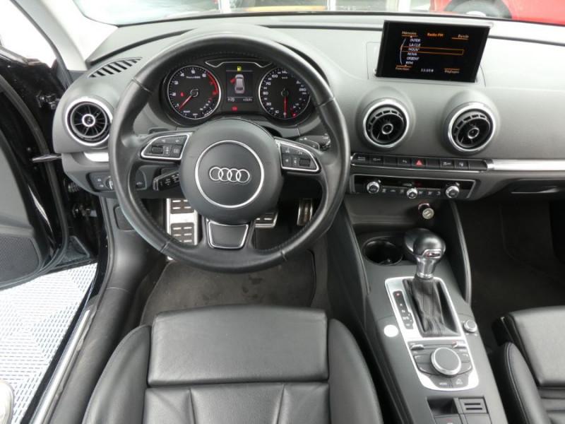 Photo 8 de l'offre de AUDI A3 TFSI 110 S tronic 7 AMBITION LUXE JA18 Camera 3P à 16950€ chez Mérignac auto