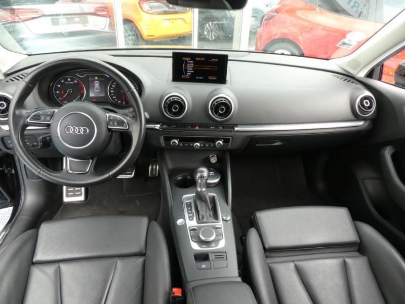 Photo 7 de l'offre de AUDI A3 TFSI 110 S tronic 7 AMBITION LUXE JA18 Camera 3P à 16950€ chez Mérignac auto