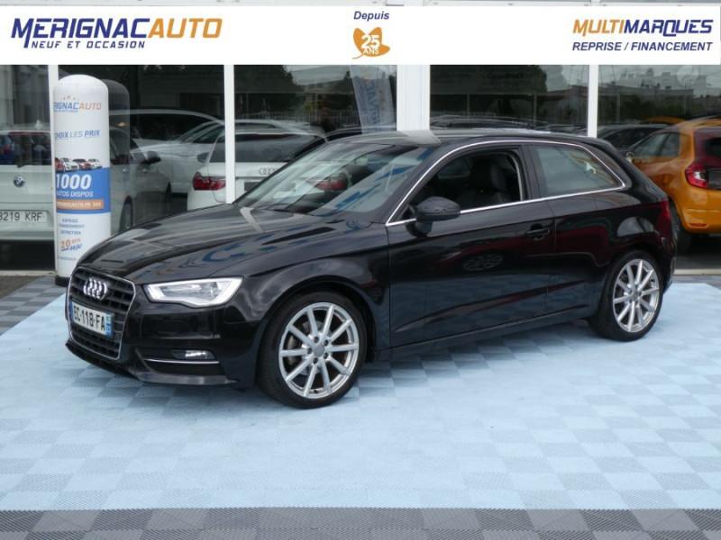 Audi A3 TFSI 110 S tronic 7 AMBITION LUXE JA18 Camera 3P ESSENCE NOIRE Occasion à vendre