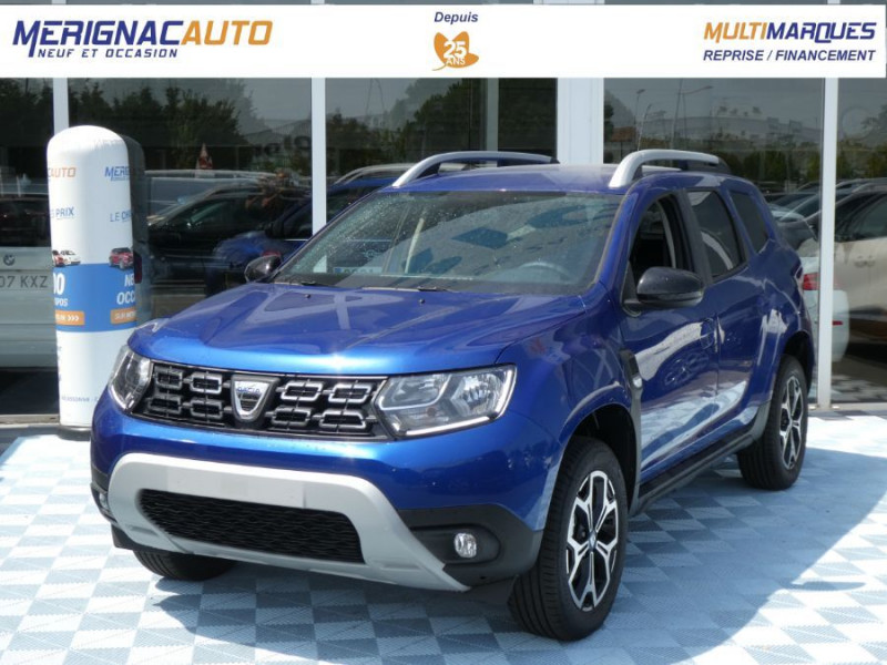 Dacia DUSTER 1.5 BlueDCi 115 BV6 4X2 PRESTIGE BlueLine Camera DIESEL BLEU IRON MÉTAL Neuf à vendre