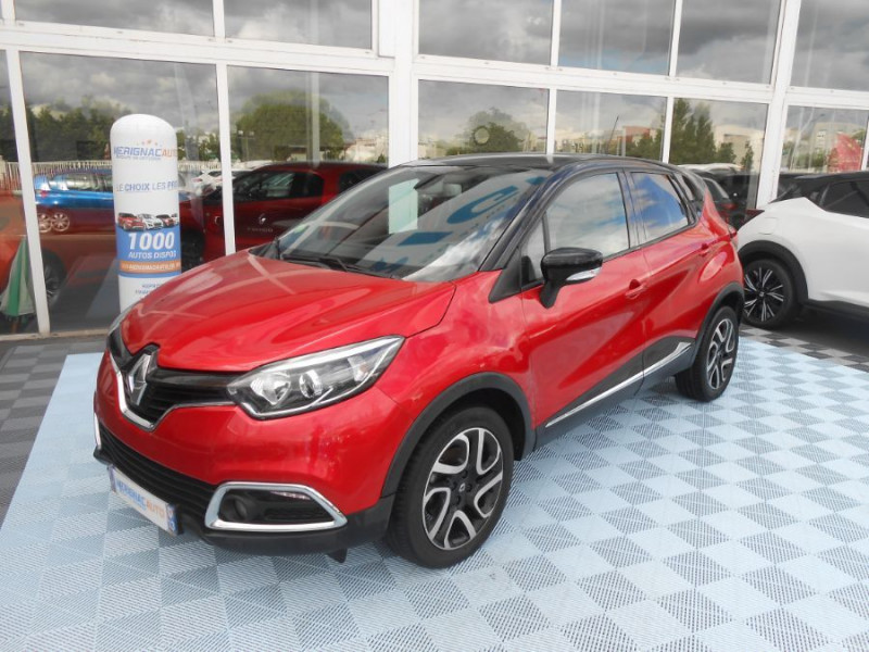 Photo 1 de l'offre de RENAULT CAPTUR 1.5 dCi 110 BV6 INTENS Camera 1ère Main à 12350€ chez Mérignac auto