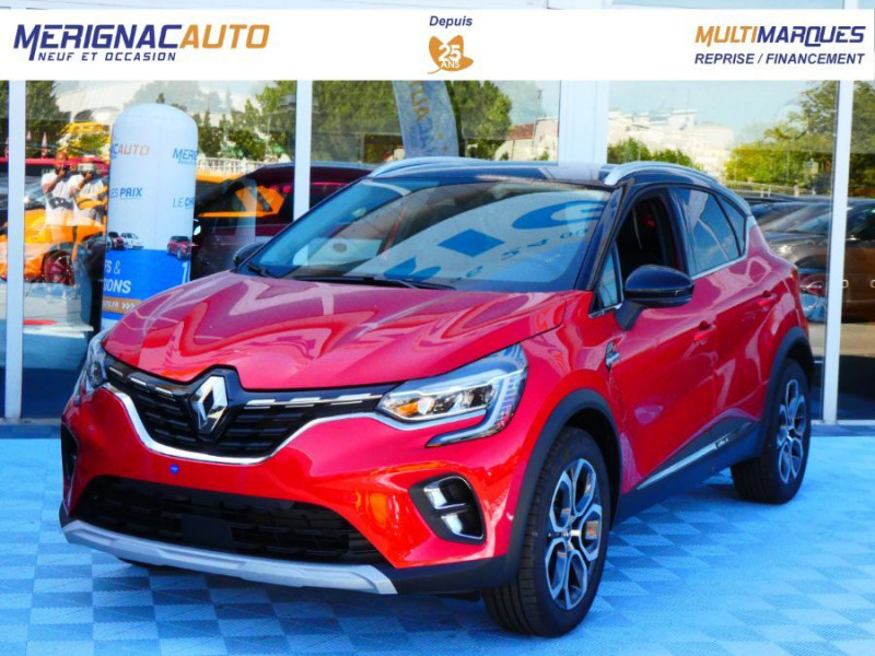Photo 1 de l'offre de RENAULT CAPTUR II 1.5 Blue dCi 115 BV6 INTENS Full LED JA18 Barres à 23290€ chez Mérignac auto