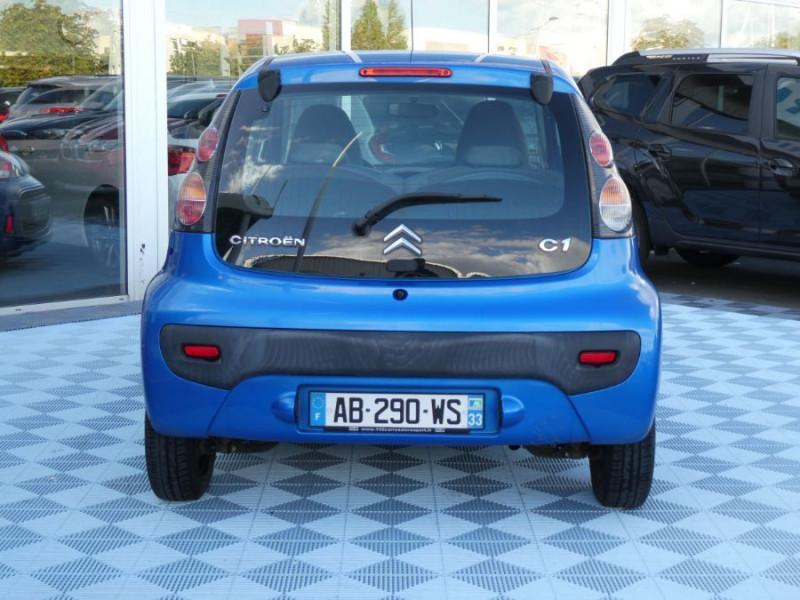 Photo 5 de l'offre de CITROEN C1 1.0i CONFORT CLIM 3P à 4590€ chez Mérignac auto