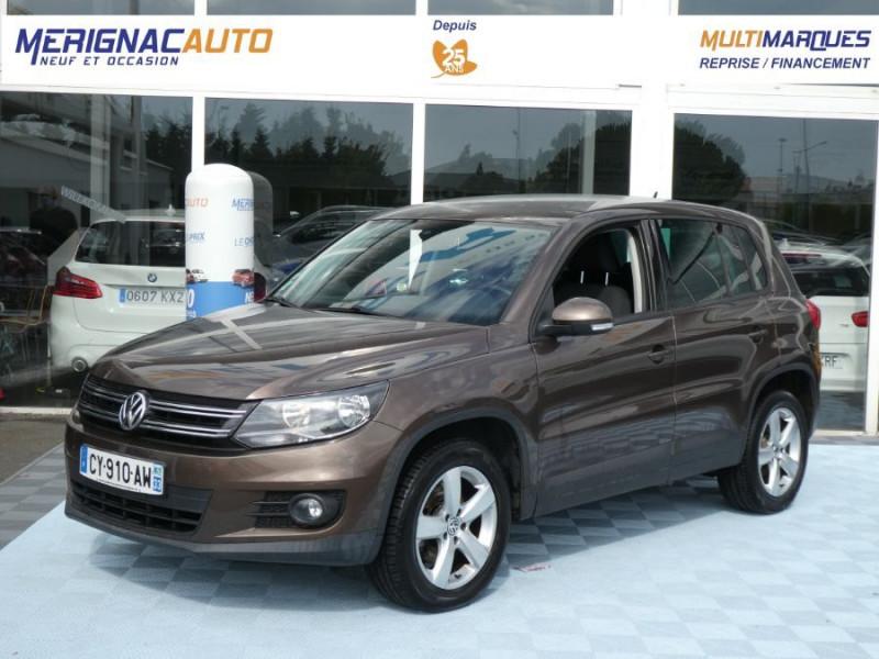 Volkswagen TIGUAN 2.0 TDI 110 BV6 2WD BLUEMOTION Bluetooth DIESEL BRUN MÉTAL Occasion à vendre