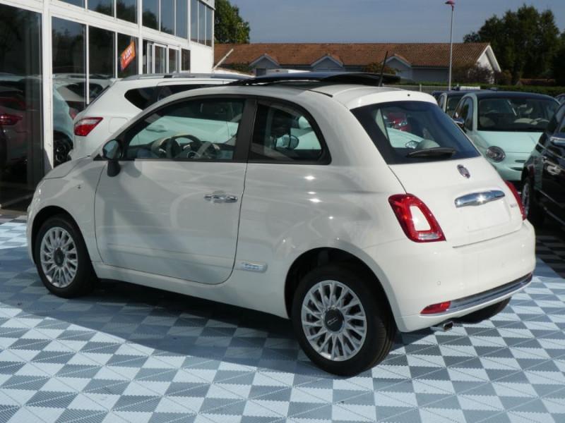 Photo 4 de l'offre de FIAT 500 1.0 70 BSG Hybrid BV6 LOUNGE TOIT OUVRANT GPS (10 Options) à 13970€ chez Mérignac auto