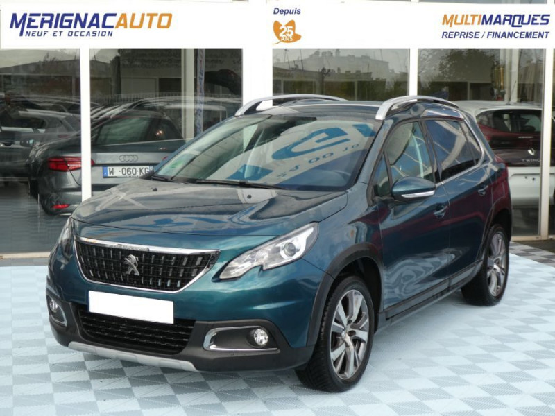 Peugeot 2008 II 1.6 BlueHDi 120 BV6 ALLURE Camera JA17 DIESEL EMERALD CRYSTAL METAL Occasion à vendre