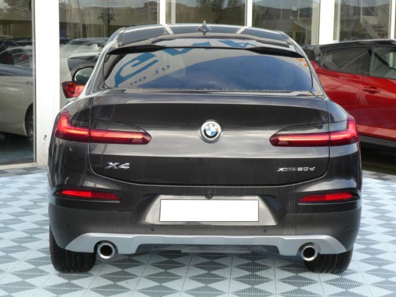 Photo 5 de l'offre de BMW X4 (G02) XDRIVE20DA BVA8 190 XLINE JA19 Gtie 12/22 à 48950€ chez Mérignac auto