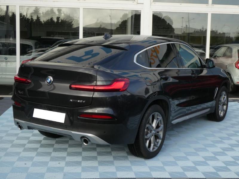 Photo 6 de l'offre de BMW X4 (G02) XDRIVE20DA BVA8 190 XLINE JA19 Gtie 12/22 à 48950€ chez Mérignac auto