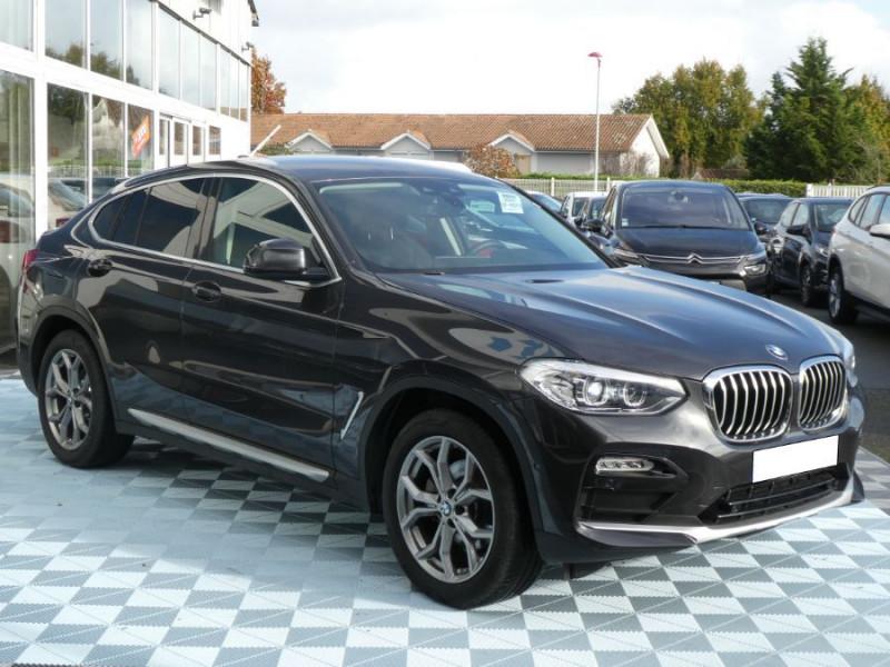 Photo 3 de l'offre de BMW X4 (G02) XDRIVE20DA BVA8 190 XLINE JA19 Gtie 12/22 à 48950€ chez Mérignac auto