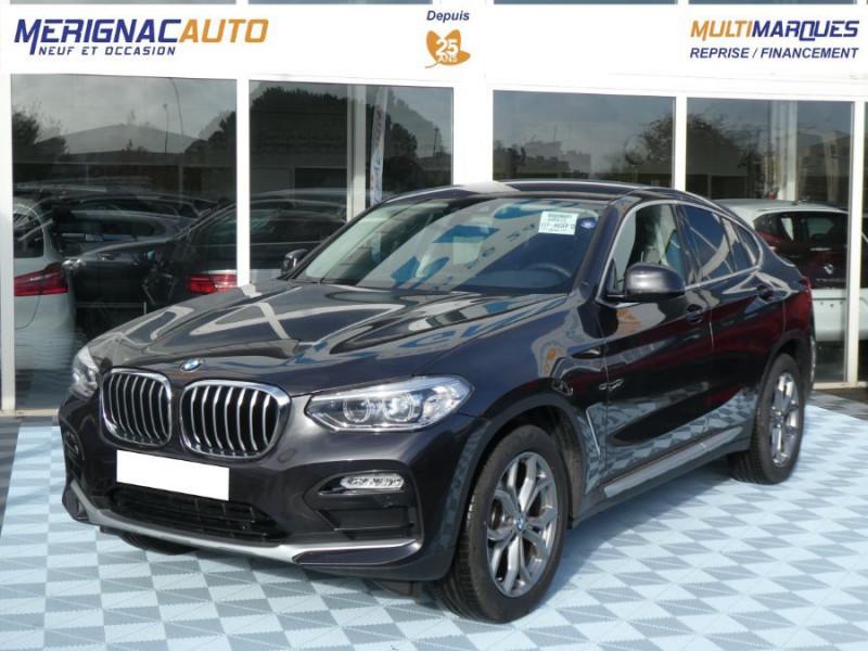 Photo 1 de l'offre de BMW X4 (G02) XDRIVE20DA BVA8 190 XLINE JA19 Gtie 12/22 à 48950€ chez Mérignac auto