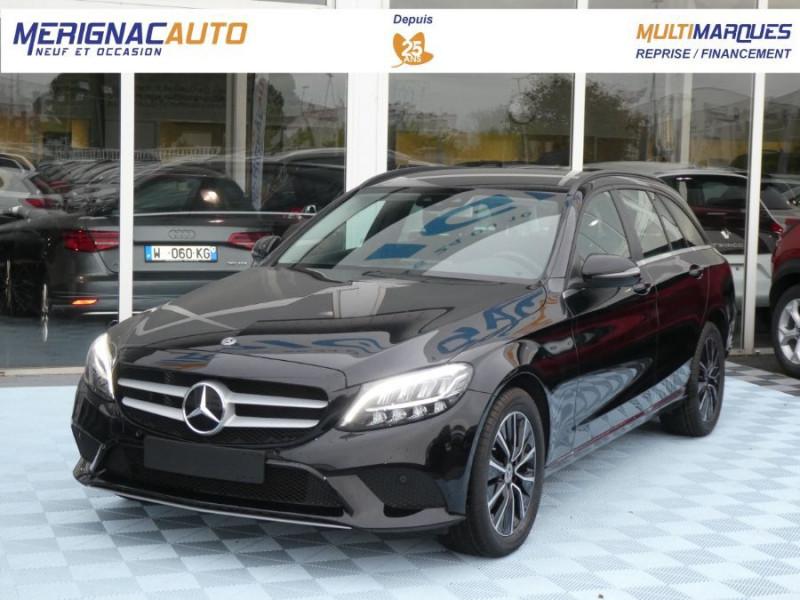Mercedes-Benz CLASSE C SW IV 220 D 194 9G-Tronic SPORT LED Camera DIESEL NOIRE Occasion à vendre