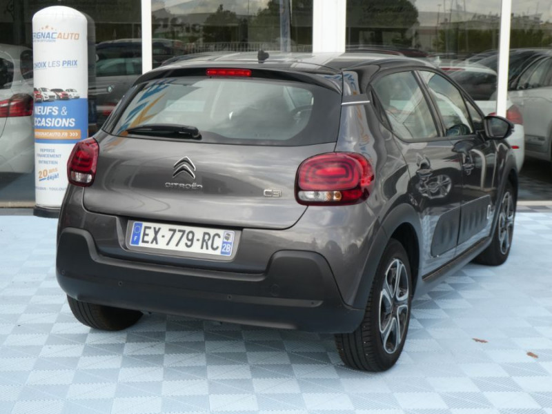 Photo 4 de l'offre de CITROEN C3 PureTech 110 SHINE GPS à 13750€ chez Mérignac auto