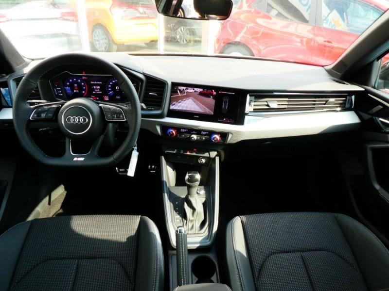Photo 11 de l'offre de AUDI A1 SPORTBACK II 30 TFSI 116 S tronic 7 Full S LINE GPS JA17 Camera (6550€ d'Options) à 29750€ chez Mérignac auto