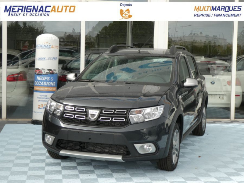 Dacia SANDERO BlueDCi 95 STEPWAY Camera (4 Options) DIESEL GRIS COMETE Neuf à vendre