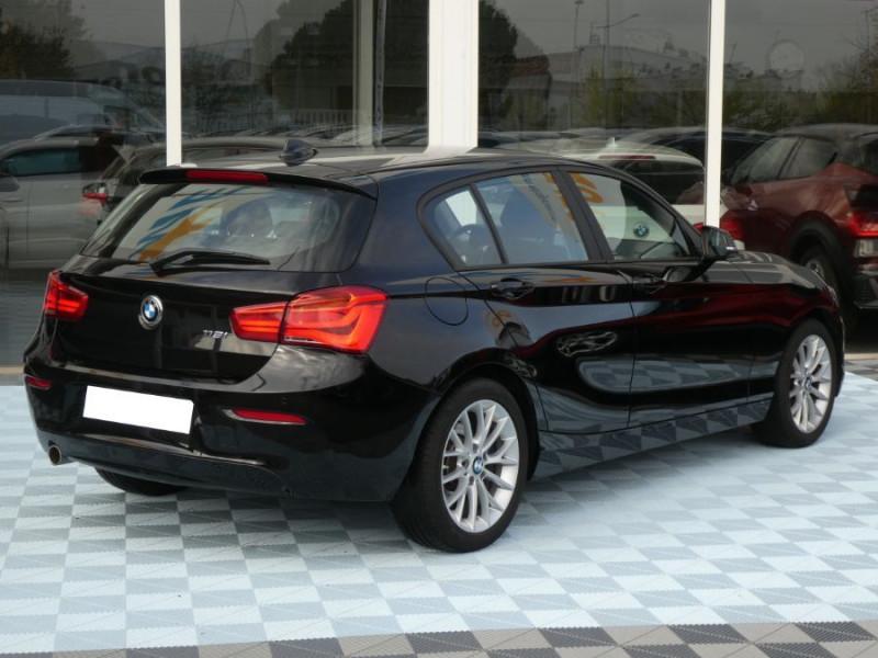 Photo 6 de l'offre de BMW SERIE 1 (F20) 118iA BVA8 136 Pack GPS JA17 Gtie 05/22 à 22350€ chez Mérignac auto