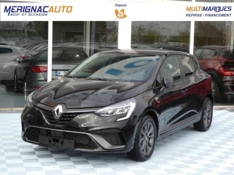 Renault CLIO V TCe 100 Pack RS LINE ESSENCE NOIR PERLE MÉTAL Neuf à vendre