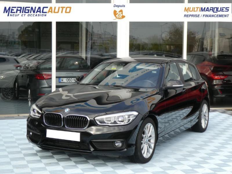 Photo 1 de l'offre de BMW SERIE 1 (F20) 118iA BVA8 136 Pack GPS JA17 Gtie 05/22 à 22350€ chez Mérignac auto