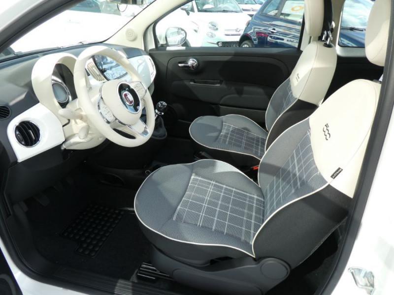 Photo 8 de l'offre de FIAT 500 1.0 70 BSG Hybrid BV6 LOUNGE TOIT OUVRANT GPS (10 Options) à 13970€ chez Mérignac auto