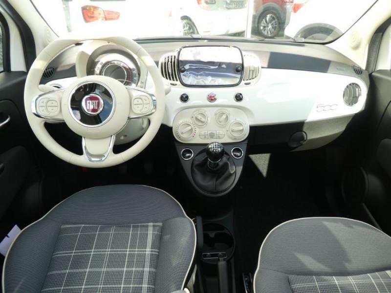 Photo 10 de l'offre de FIAT 500 1.0 70 BSG Hybrid BV6 LOUNGE TOIT OUVRANT GPS (10 Options) à 13970€ chez Mérignac auto