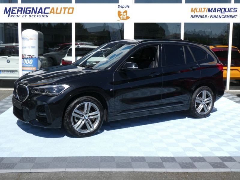 Photo 2 de l'offre de BMW X1 (F48) (2) New SDRIVE 18DA 150 BVA8 M SPORT TOIT Pano Ouv. Camera Hayon EL. à 34950€ chez Mérignac auto