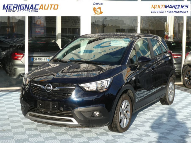 Opel CROSSLAND X 1.5 Turbo D 120 BVA6 INNOVATION Mirror Link DIESEL BLEU METAL FONCE Occasion à vendre