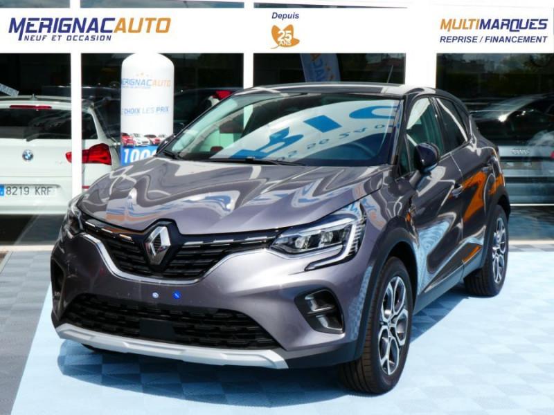 """Renault CAPTUR II 1.5 Blue dCi 115 EDC7 INTENS TECHNO GPS 9.3"""" Camera DIESEL GRIS CASSIOPEE TOIT NOIR Neuf à vendre"""