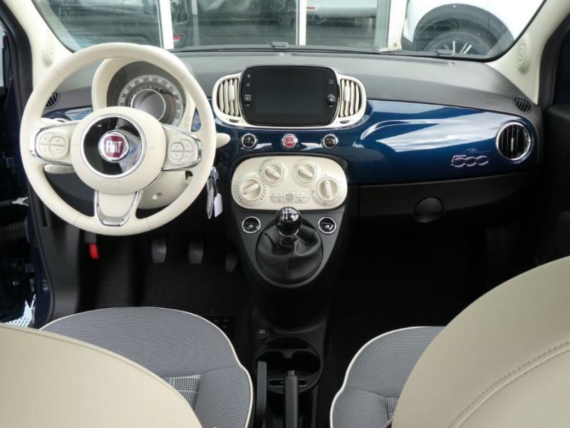 Photo 7 de l'offre de FIAT 500 1.0 70 BSG Hybrid BV6 LOUNGE Toit Pano GPS (10 Options) à 14180€ chez Mérignac auto