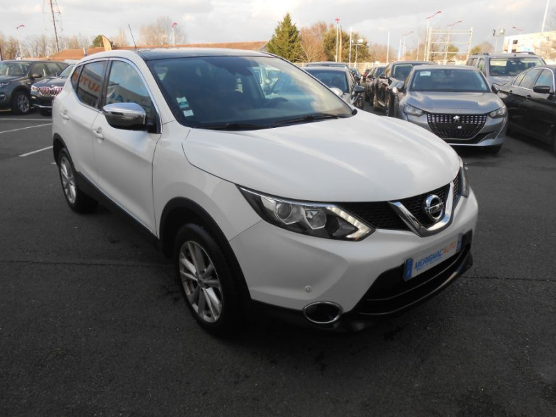 Nissan QASHQAI 1.5 DCI 110 BV6 CONNECT TOIT Pano Attel. DIESEL BLANC Occasion à vendre