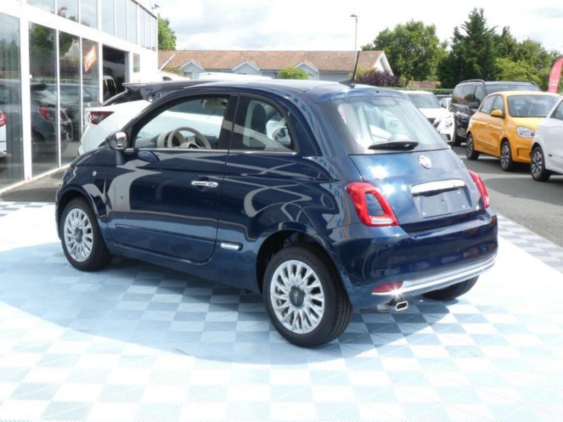 Photo 3 de l'offre de FIAT 500 1.2 69 Dualogic PACK LOUNGE TOIT Pano GPS (10 Options) à 14390€ chez Mérignac auto