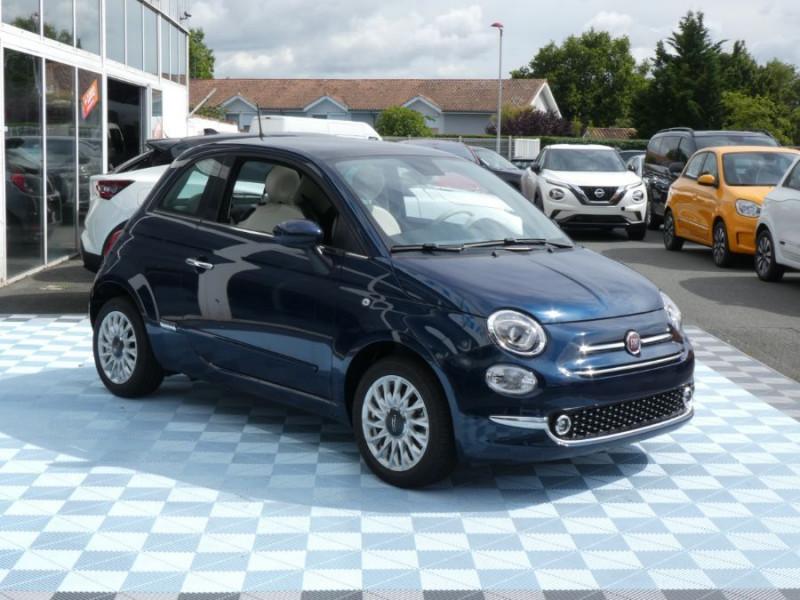 Photo 2 de l'offre de FIAT 500 1.2 69 Dualogic PACK LOUNGE TOIT Pano GPS (10 Options) à 14390€ chez Mérignac auto