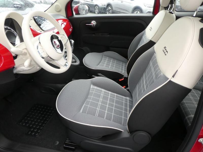 Photo 8 de l'offre de FIAT 500 1.2 69 Dualogic PACK LOUNGE TOIT OUVRANT GPS (10 Options) à 14590€ chez Mérignac auto