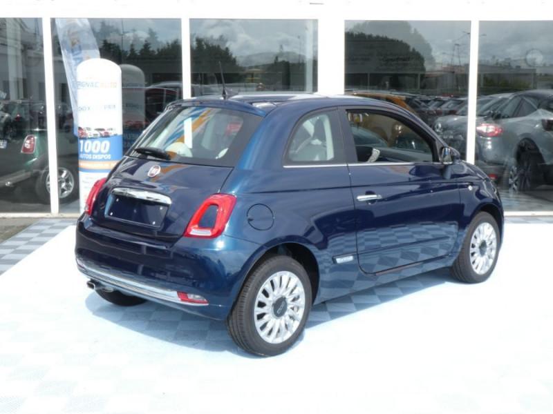 Photo 4 de l'offre de FIAT 500 1.2 69 Dualogic PACK LOUNGE TOIT Pano GPS (10 Options) à 14390€ chez Mérignac auto