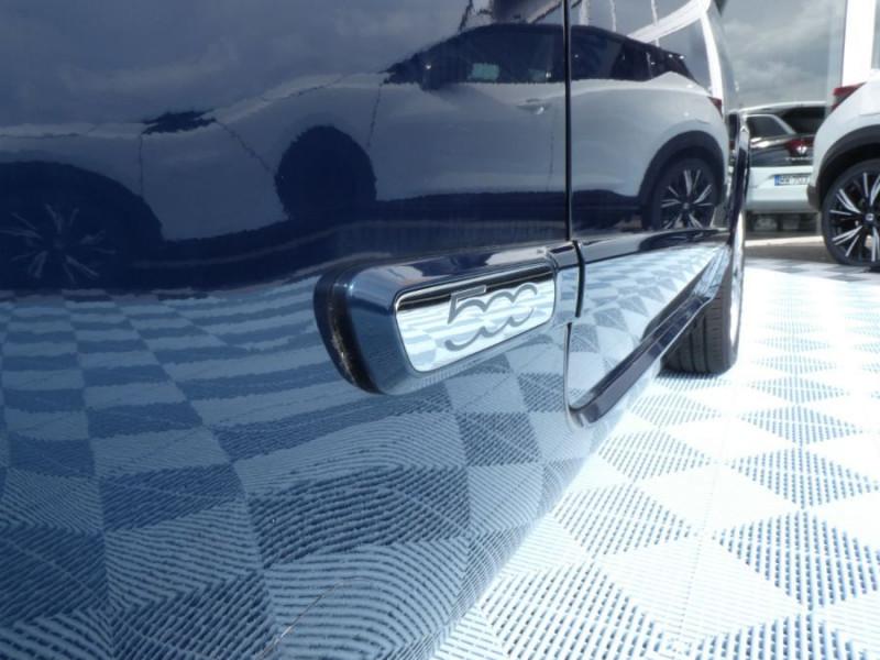 Photo 8 de l'offre de FIAT 500 1.2 69 Dualogic PACK LOUNGE TOIT Pano GPS (10 Options) à 14390€ chez Mérignac auto