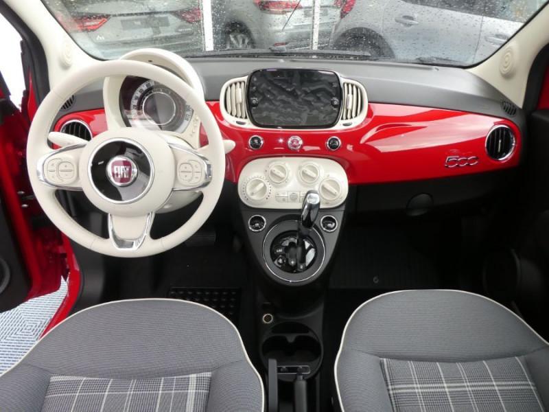 Photo 10 de l'offre de FIAT 500 1.2 69 Dualogic PACK LOUNGE TOIT OUVRANT GPS (10 Options) à 14590€ chez Mérignac auto