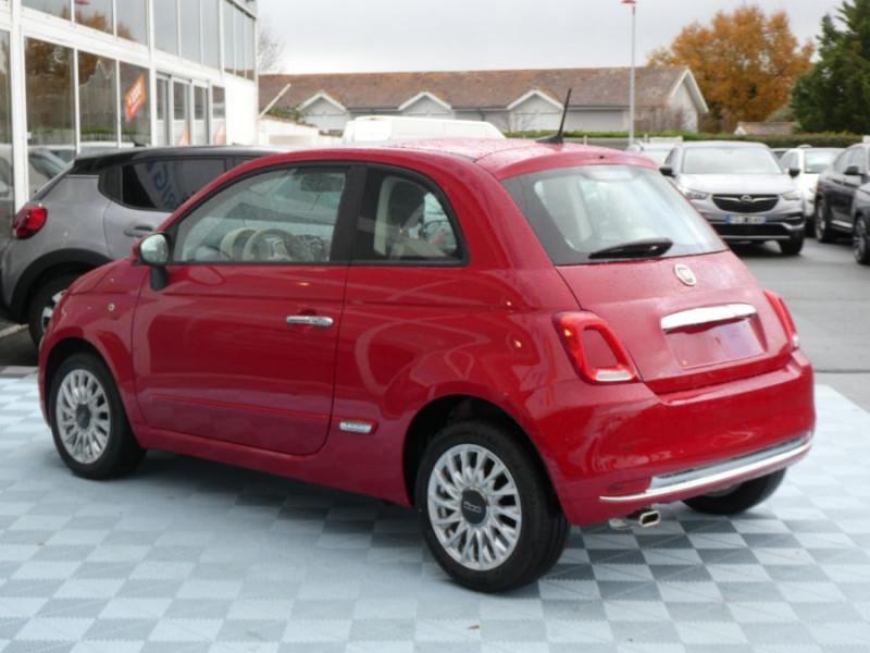 Photo 4 de l'offre de FIAT 500 1.2 69 Dualogic PACK LOUNGE TOIT OUVRANT GPS (10 Options) à 14590€ chez Mérignac auto
